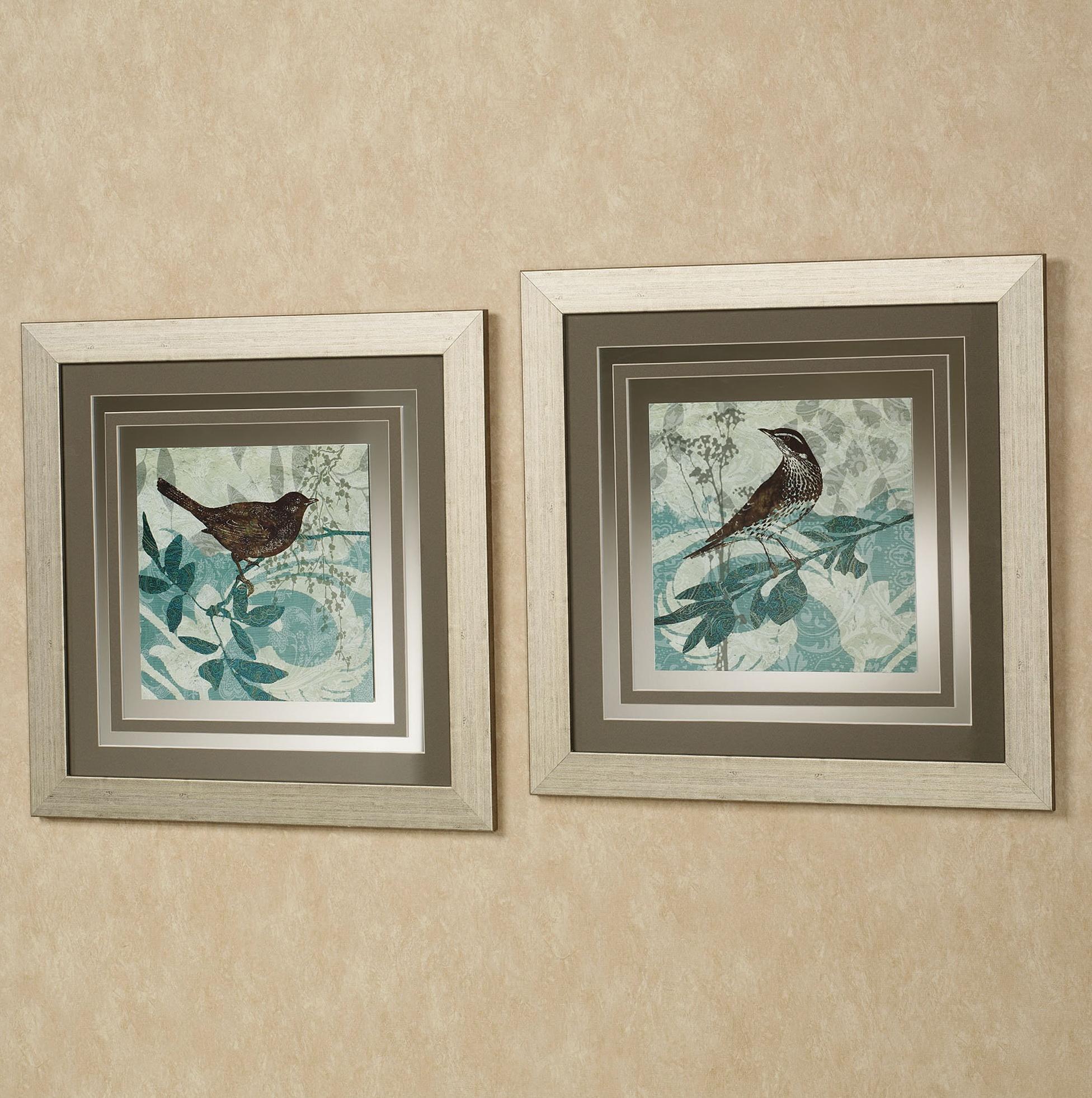 Mirrored Framed Wall Art