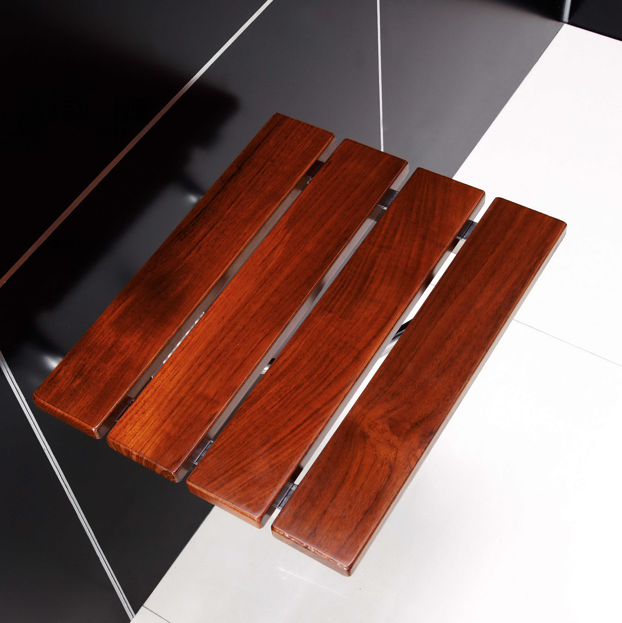 Modern Teak Shower Bench
