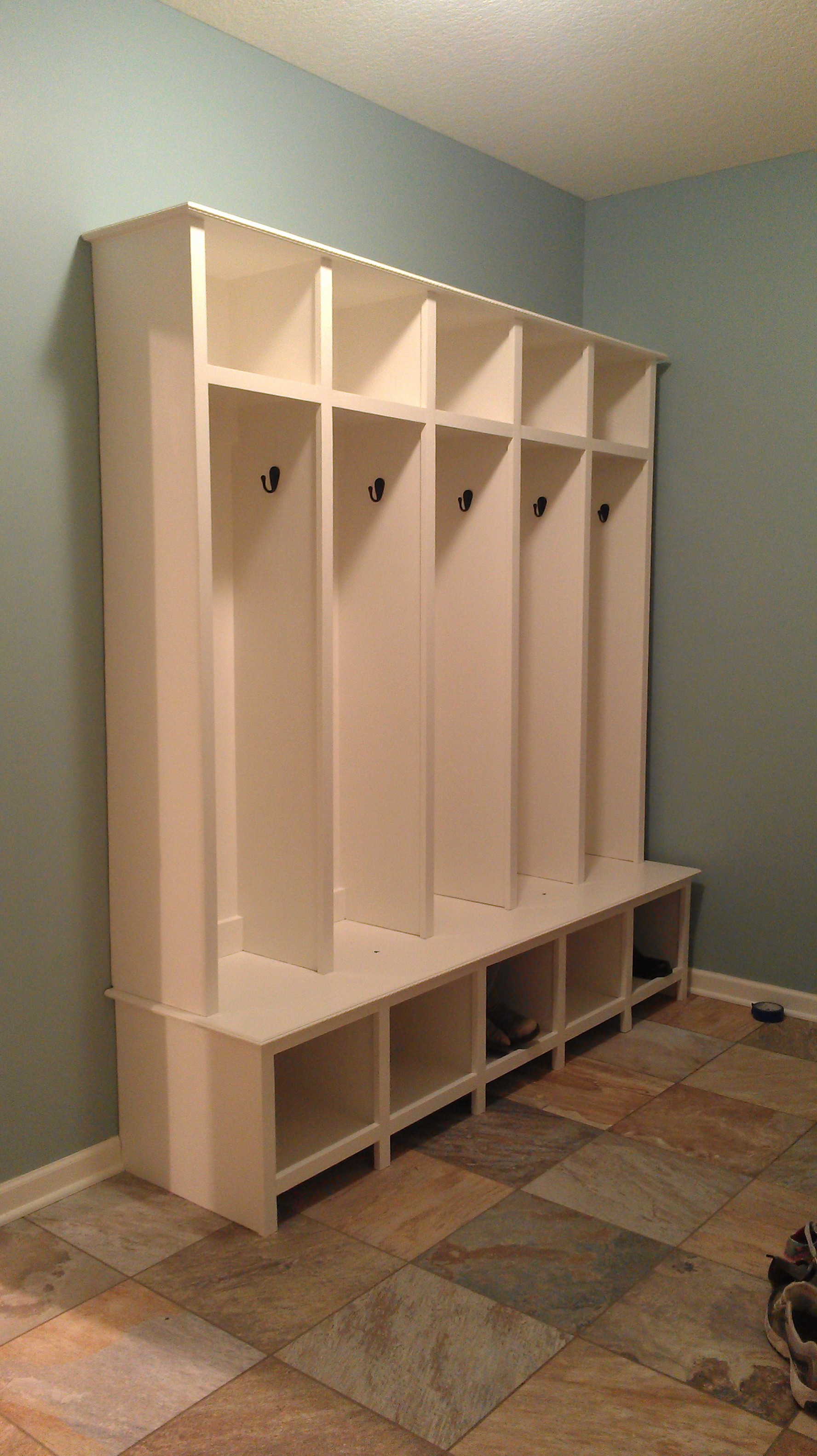 Mudroom Lockers With Bench Ikea Home Design Ideas