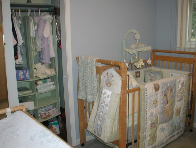 Nursery Closet Organization Systems