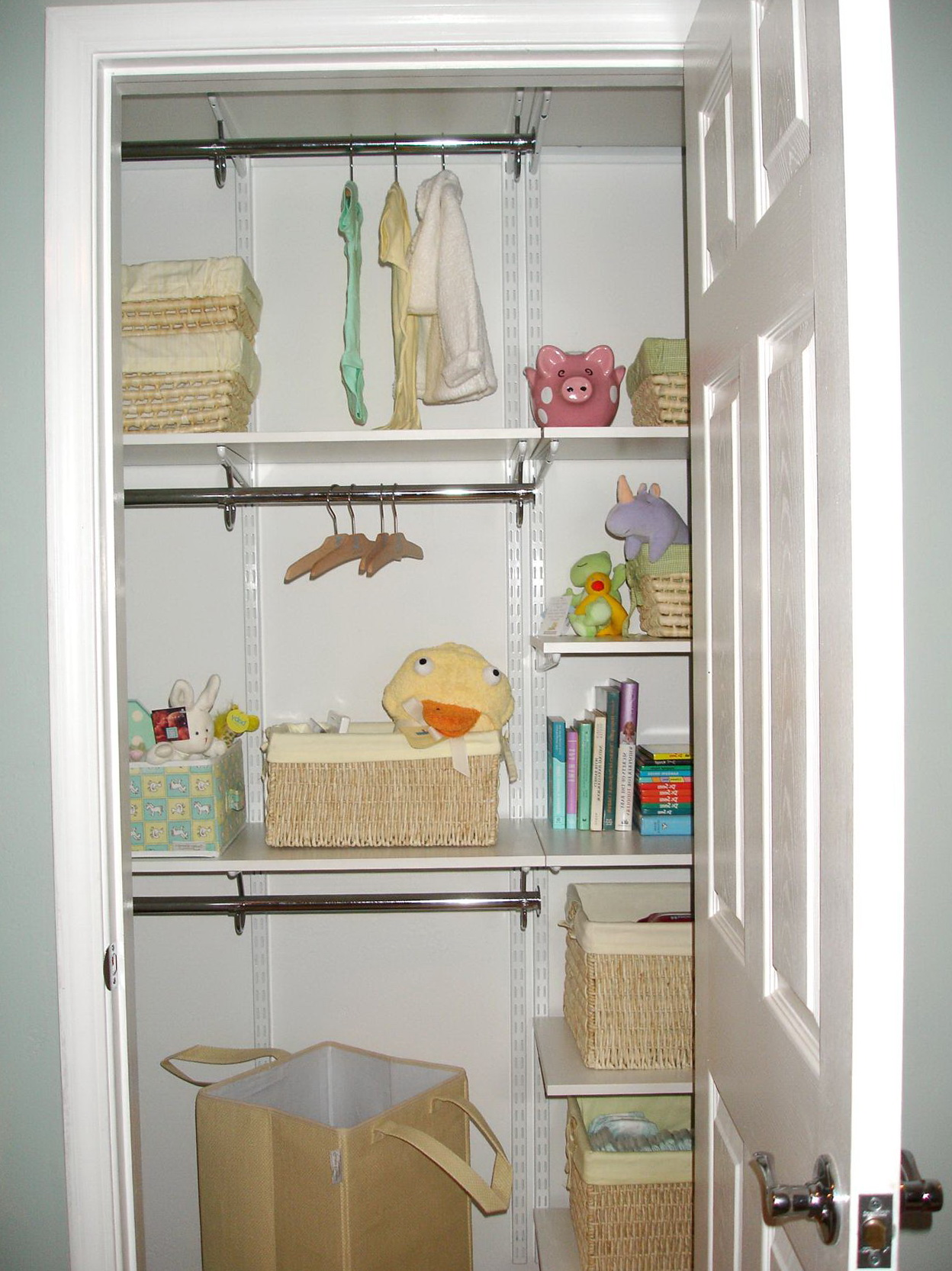 Nursery Closet Organization Tips