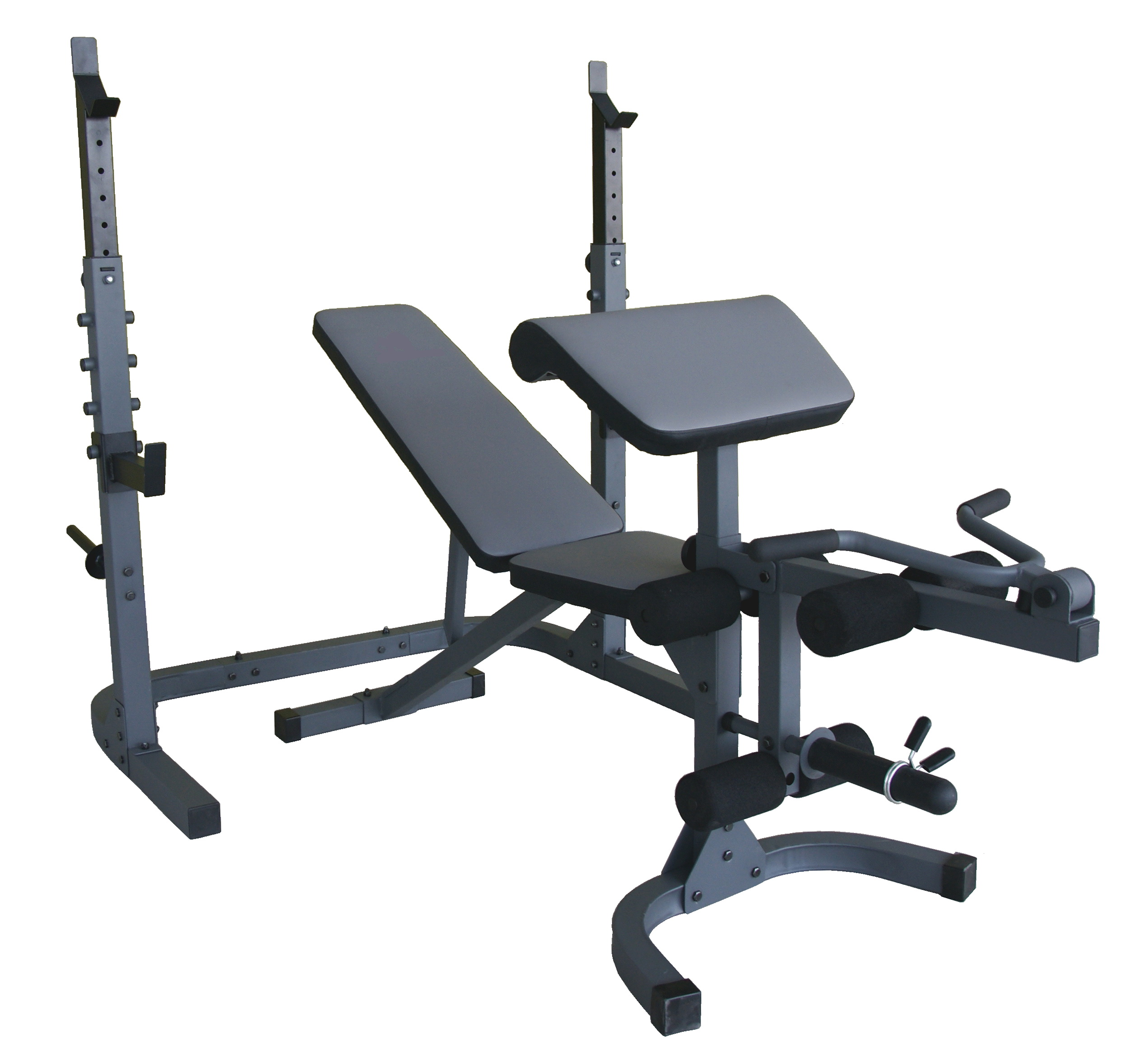 Olympic Bench And Squat Rack
