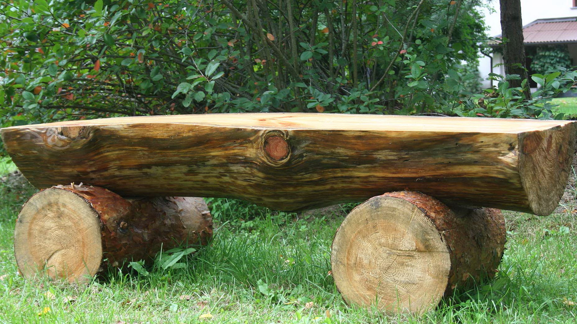 Outdoor Log Benches For Sale