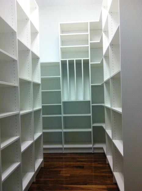 Pantry Closet Shelving Systems