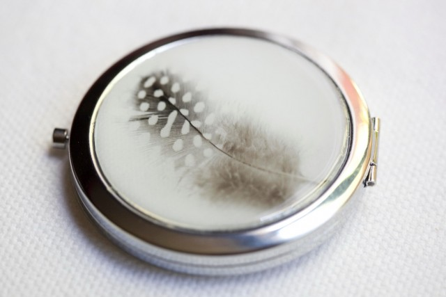 Personalized Compact Mirrors Bridesmaids