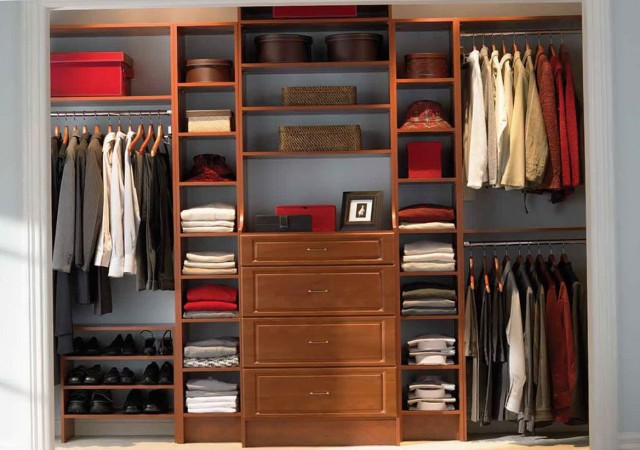 Reach In Closet Organizer Systems