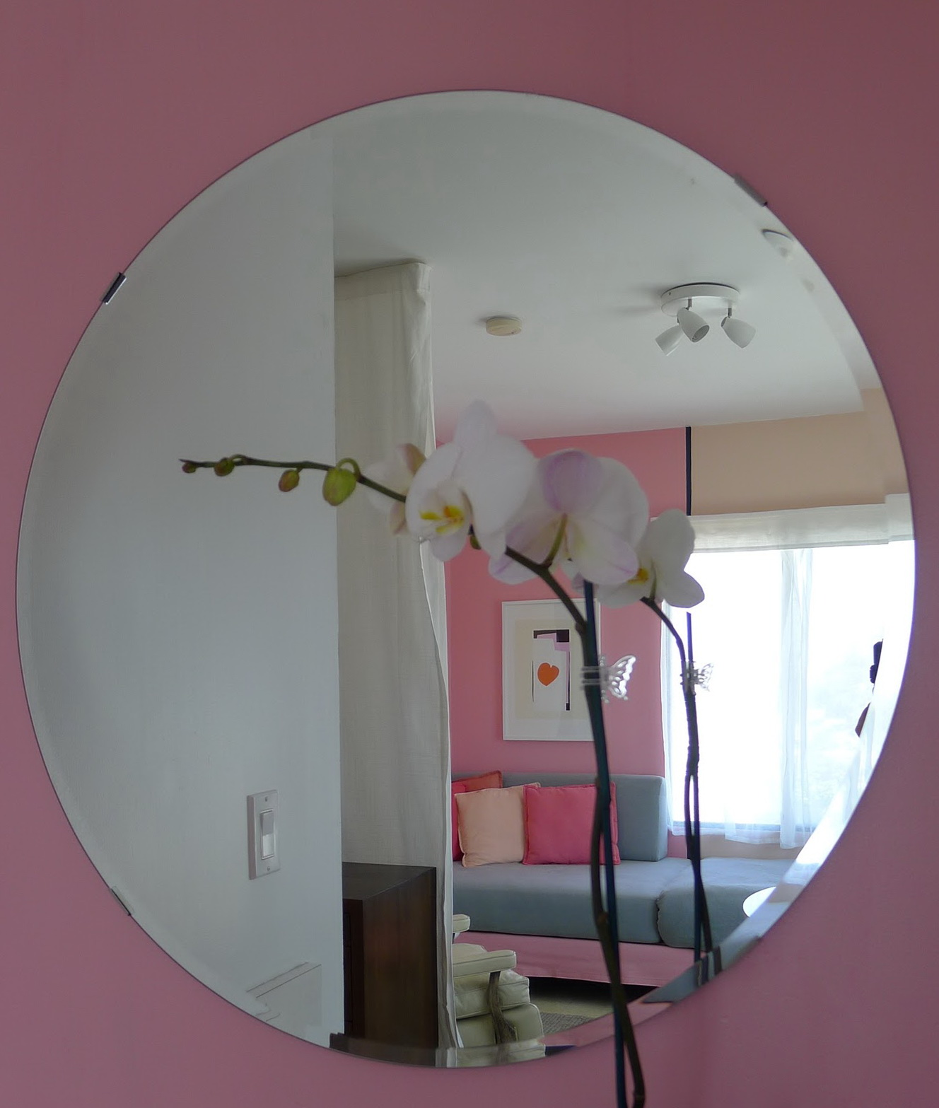 round wall mirror ikea home design ideas. Black Bedroom Furniture Sets. Home Design Ideas