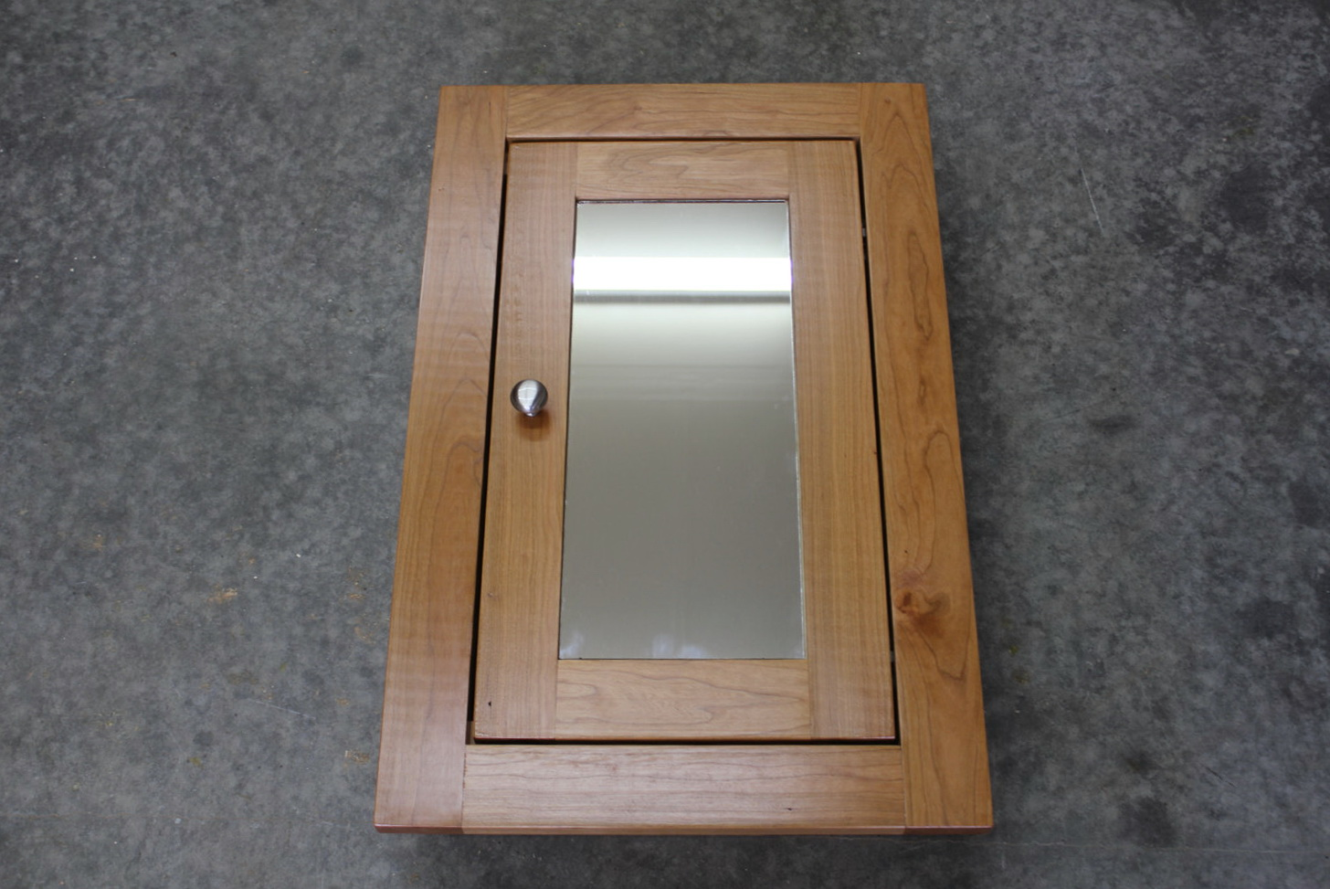 Rustic Medicine Cabinet With Mirror