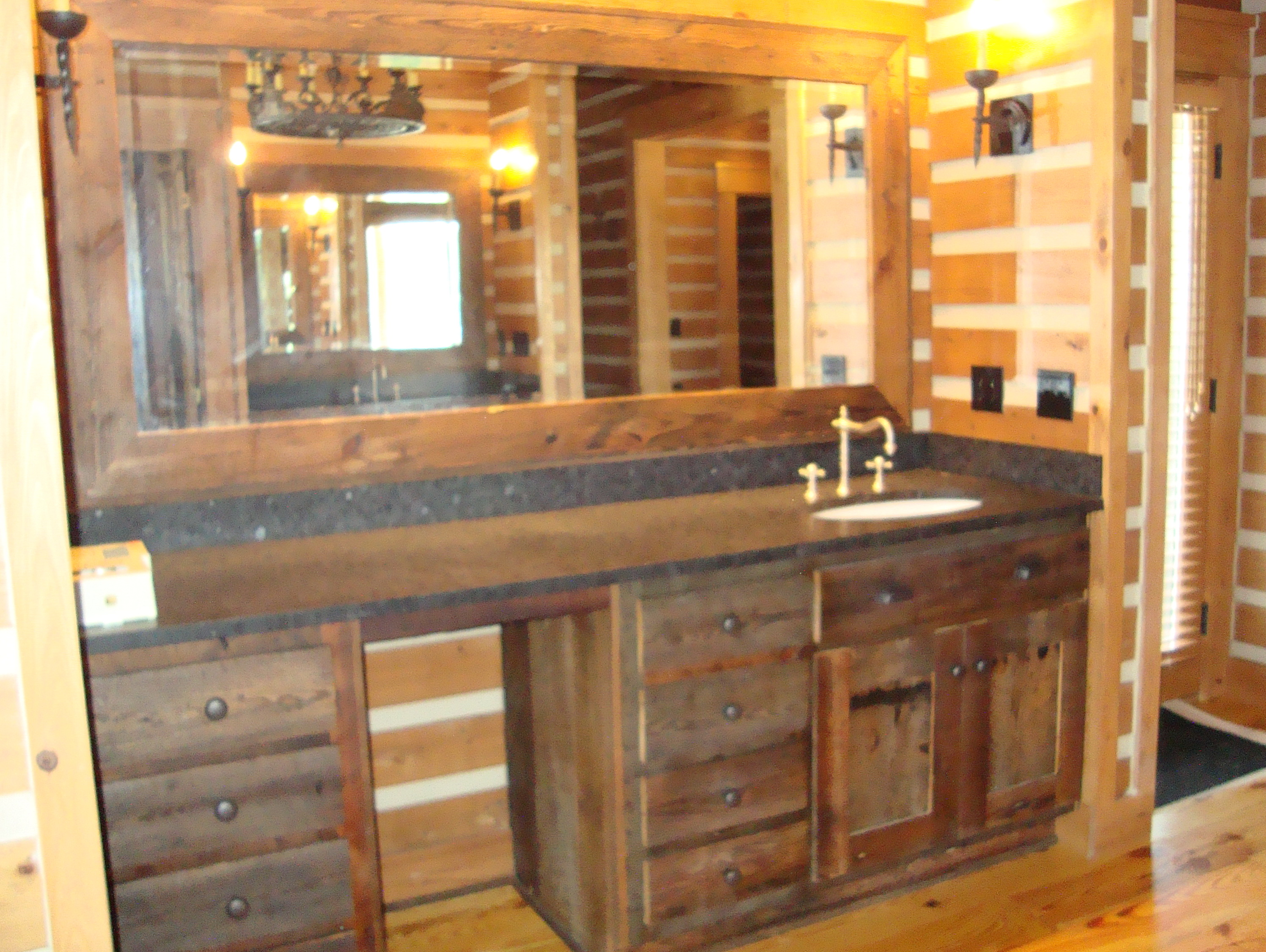 Rustic Vanity Mirrors For Bathroom Home Design Ideas