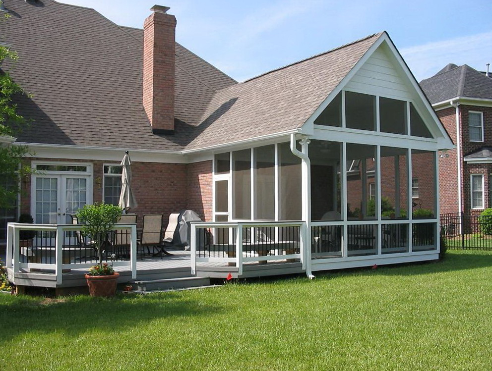 Decks And Screened Porches : Screened in decks and porches home design ideas