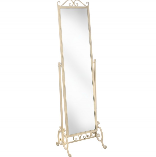 Shabby Chic Full Length Free Standing Mirror