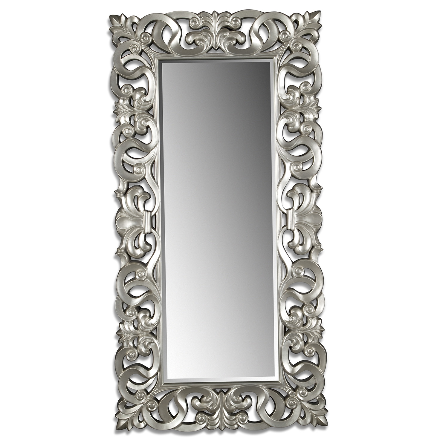 Silver Wall Mirrors Decorative