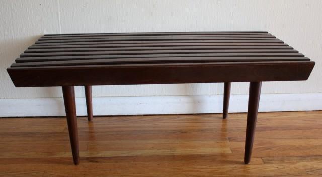 Slat Bench Coffee Table