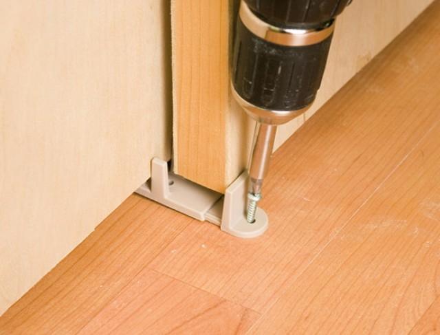 Sliding Closet Door Floor Guides