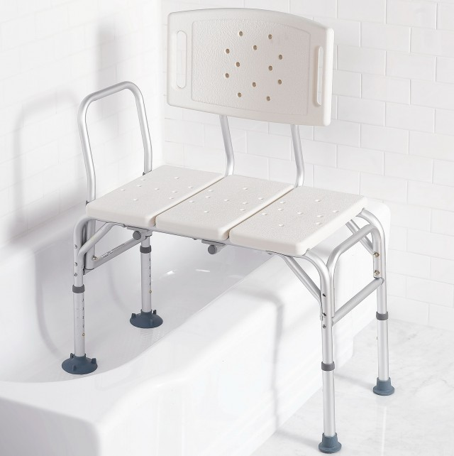 Sliding Transfer Bench For Shower