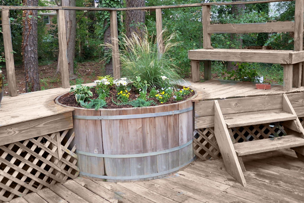 Small Back Deck Ideas