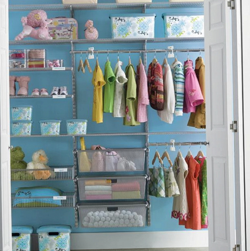 Small Closet Organization For Kids Home Design Ideas
