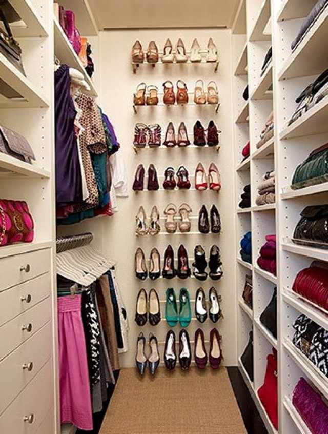 Small Closet Shoe Organization Ideas