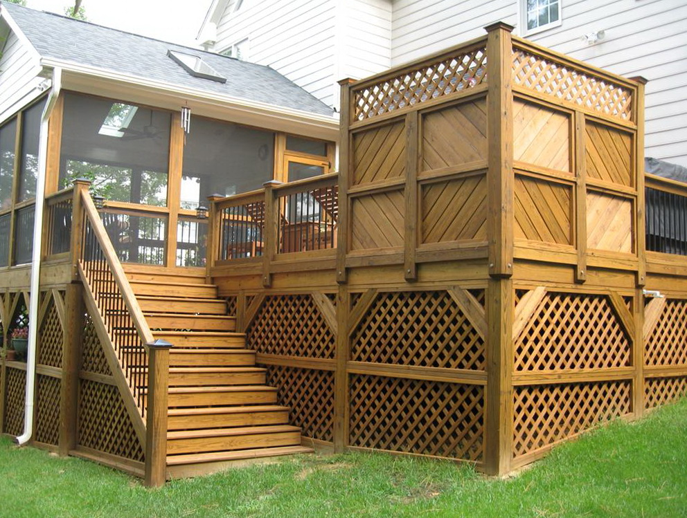 Small Front Deck Ideas Home Design Ideas