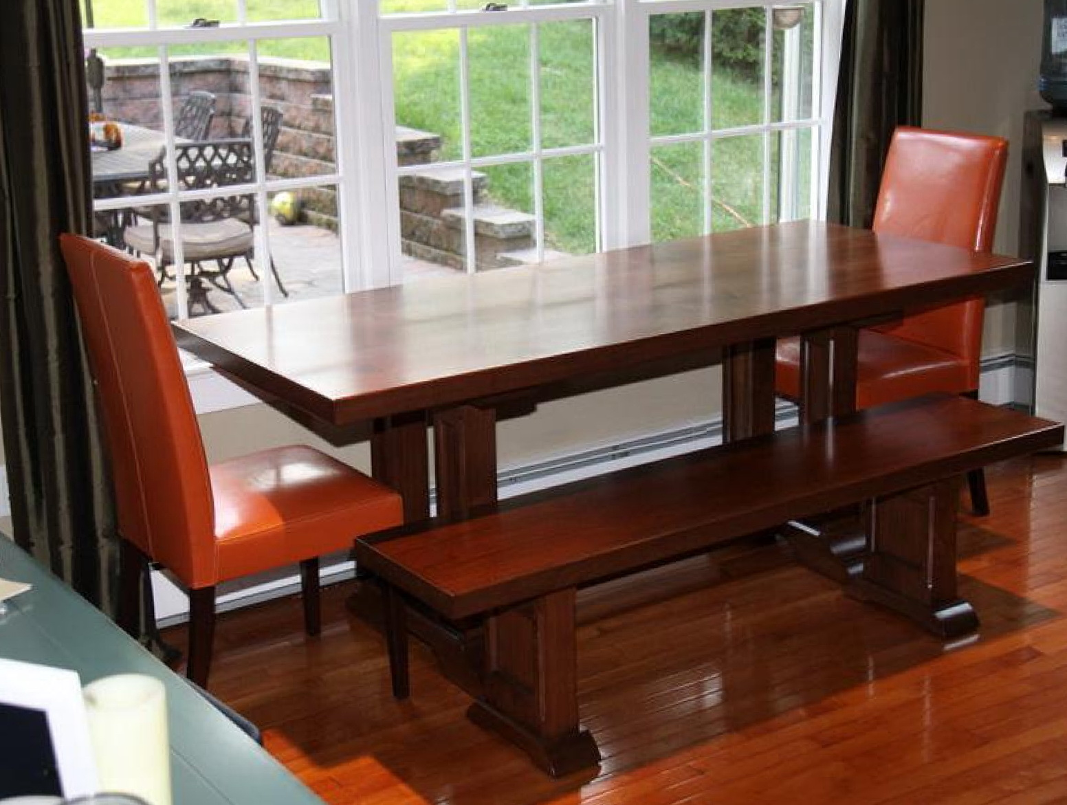 Home design ideas your home reference for Slim kitchen table
