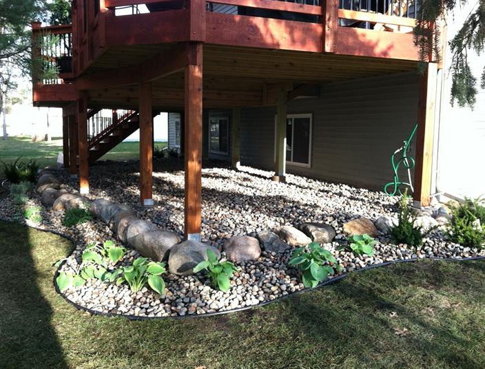 Under Deck Ideas Landscaping