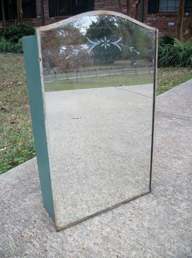 Vintage Medicine Cabinet With Mirror