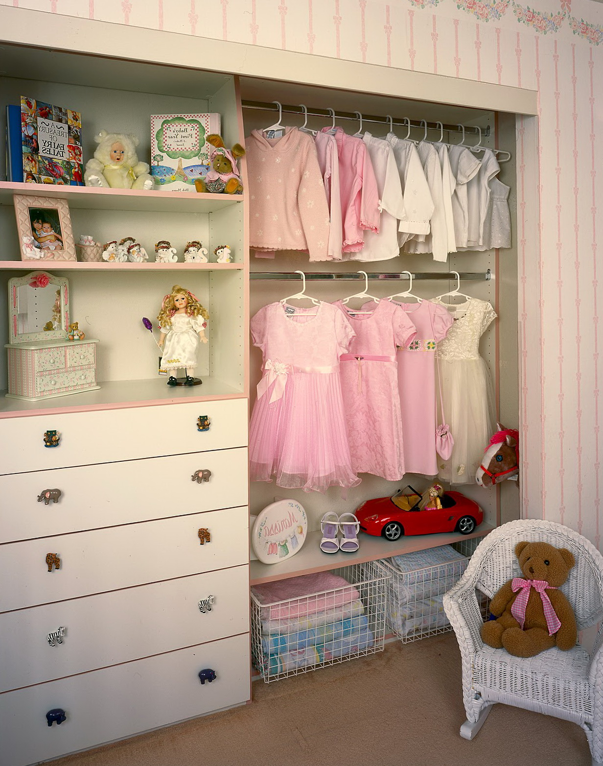 Walk In Closet For Girls