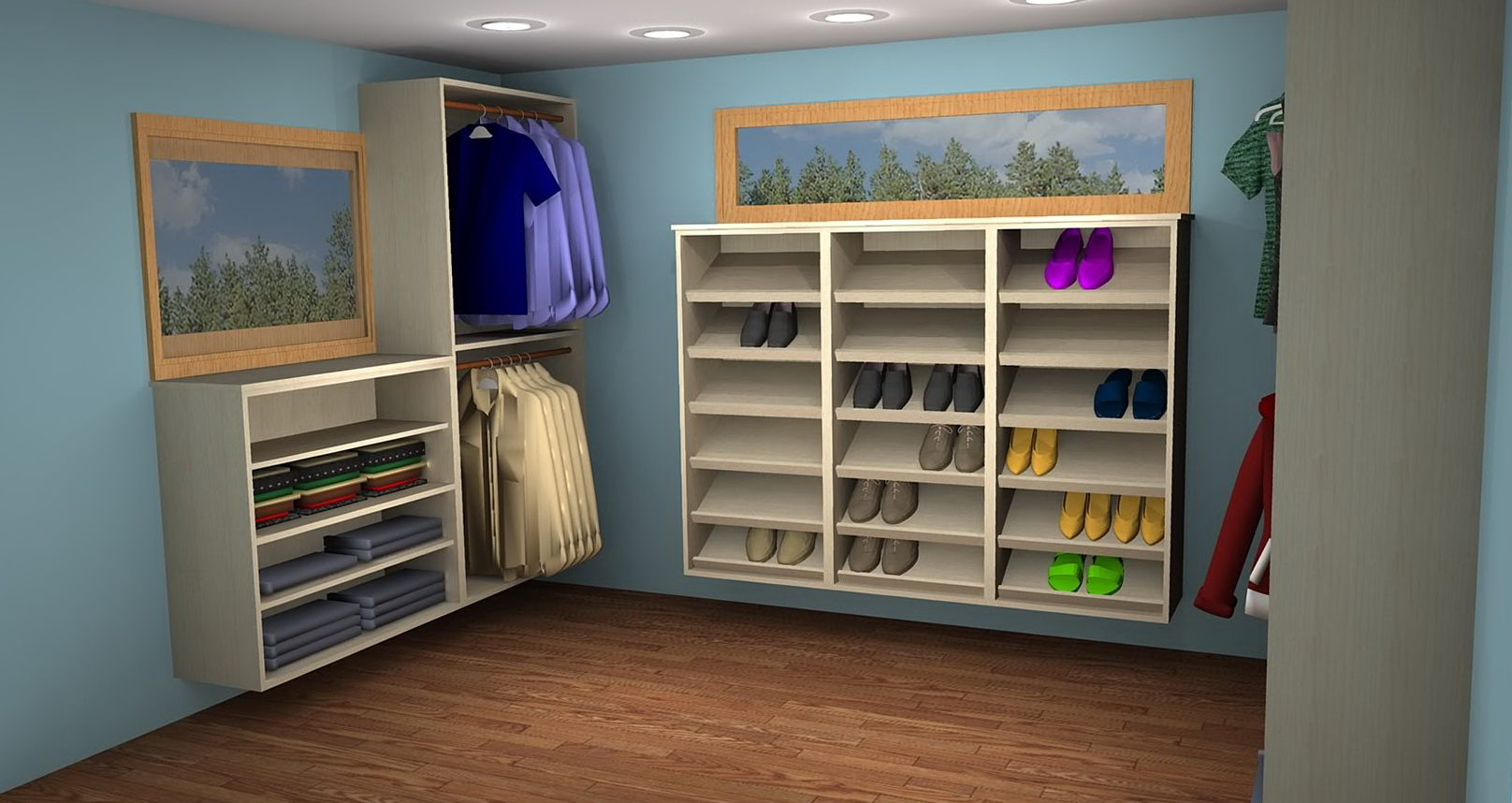 Walk In Closet Ideas For Teenage Girls