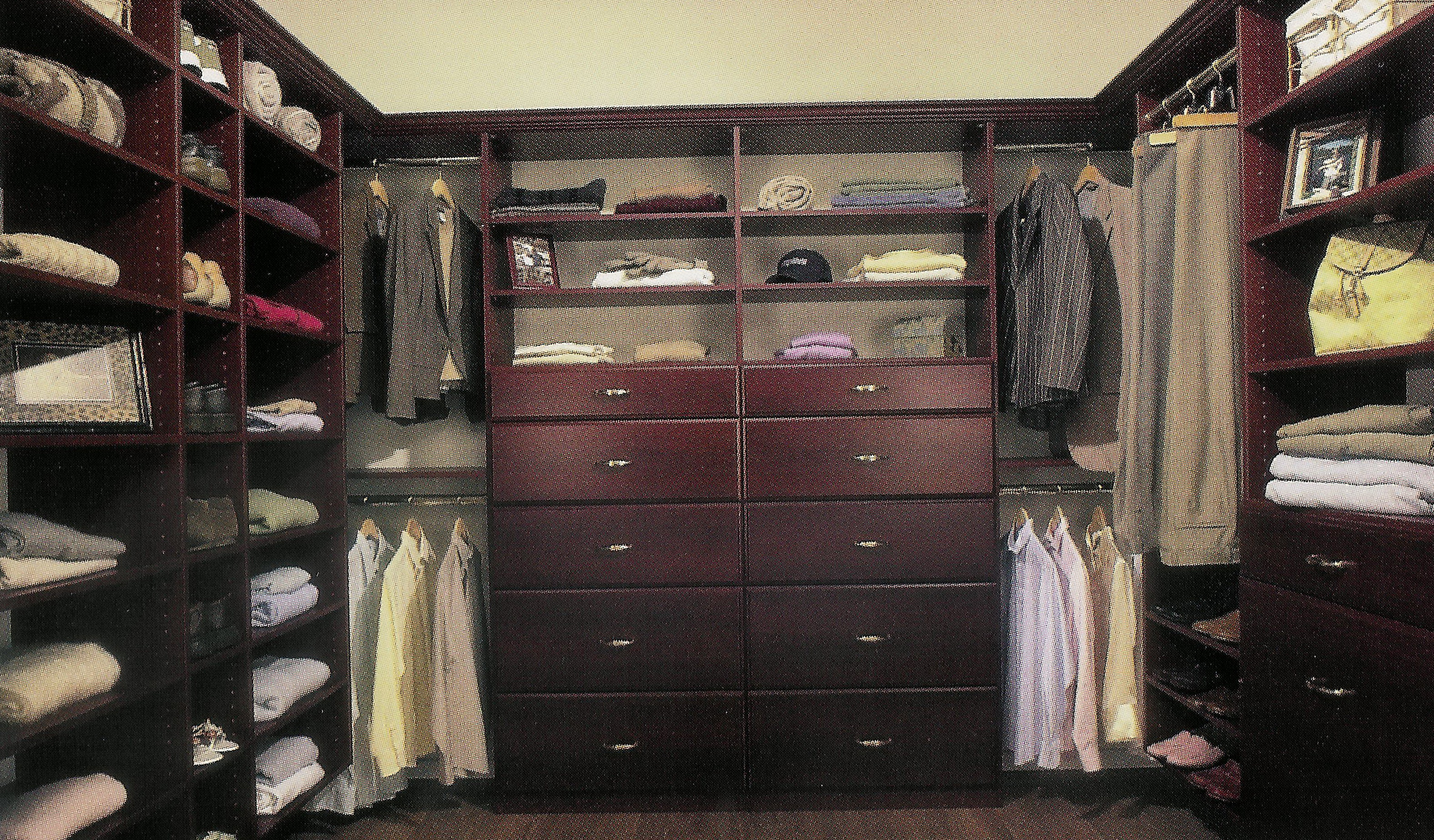 Walk In Closet Organizers Do It Yourself Home Design Ideas