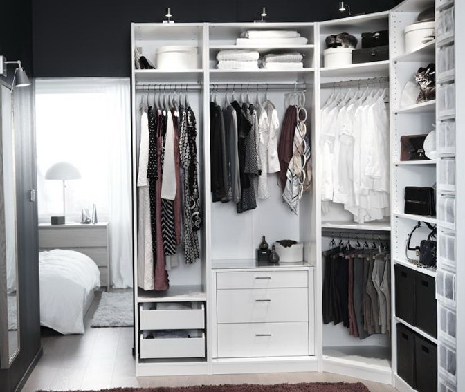 Walk In Closet Systems Ikea Home Design Ideas