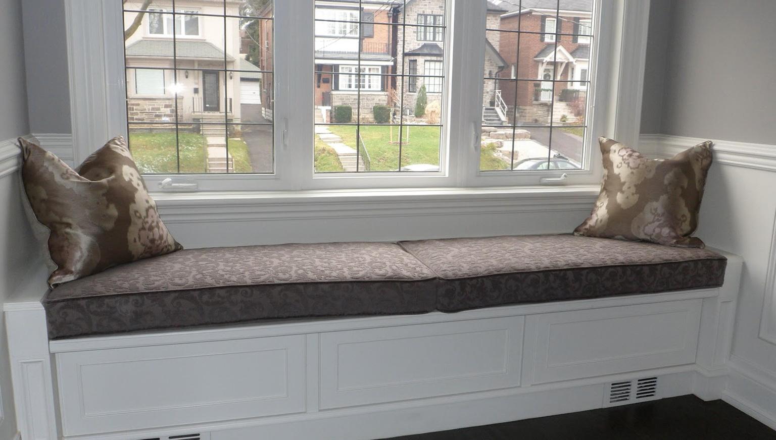 Window Bench Cushions Diy