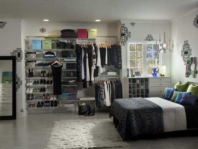 Wire Closet Shelving Design Ideas