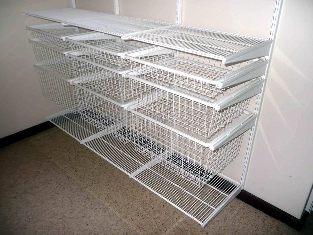 Wire Closet Shelving Parts