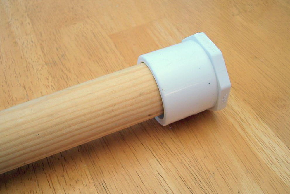 Wood Closet Rod Bracket