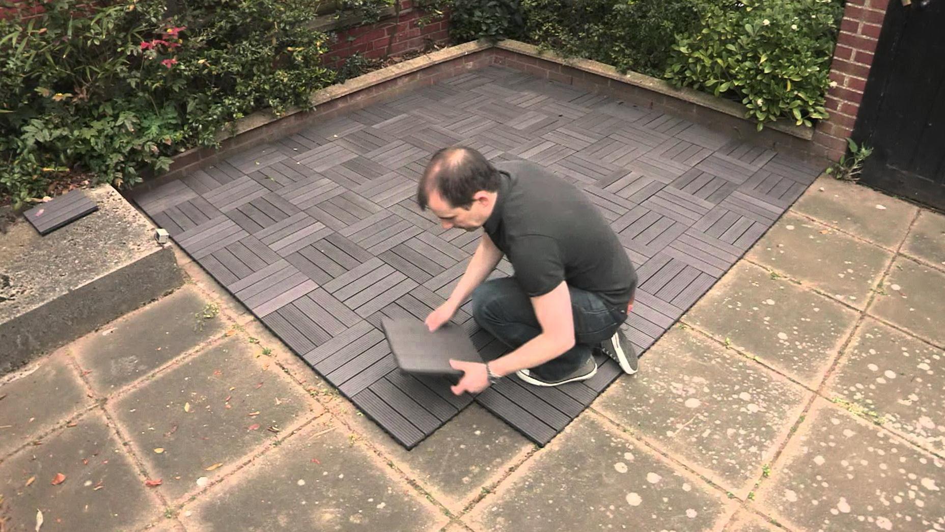 Wood Deck Tiles Over Concrete