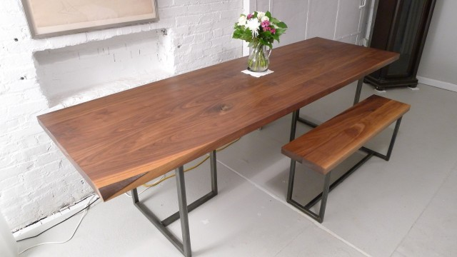 Wooden Bench For Dining Table
