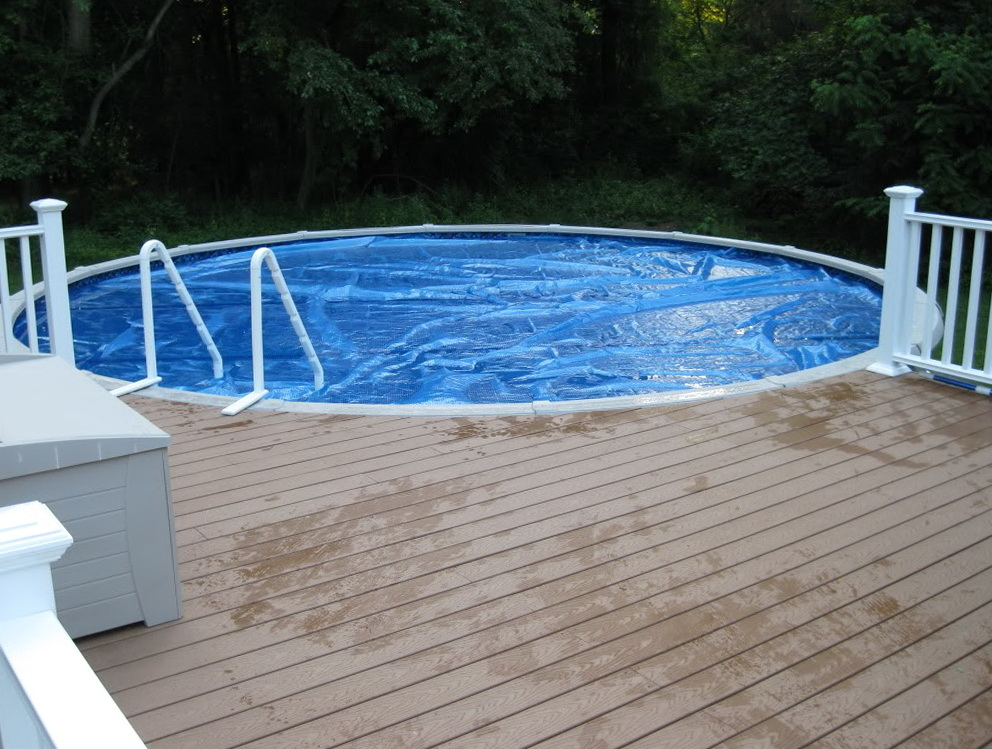 Above Ground Pools With Deck Included
