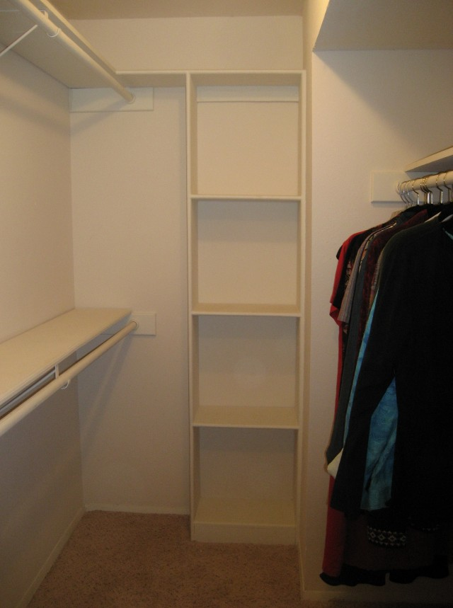 Adjustable Shelves For Closet