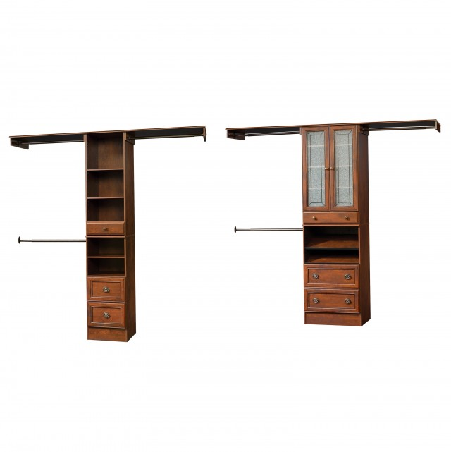 Adjustable Wood Closet Shelving