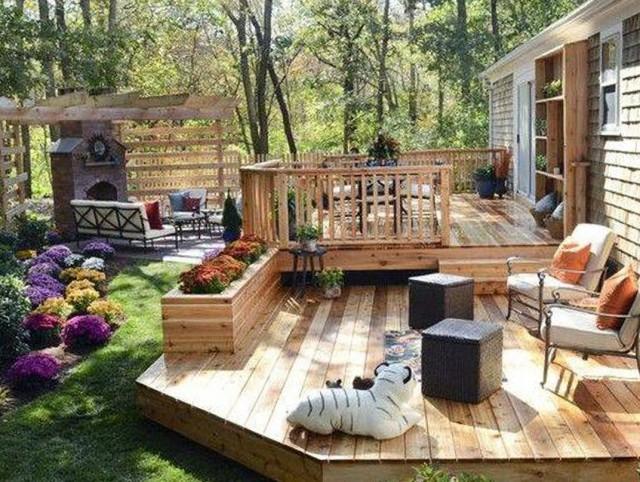 Backyard Deck Designs Photos