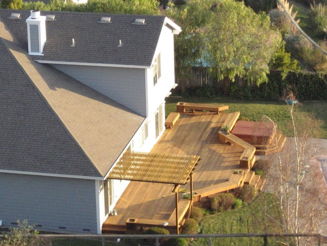 Backyard Deck Designs Pictures