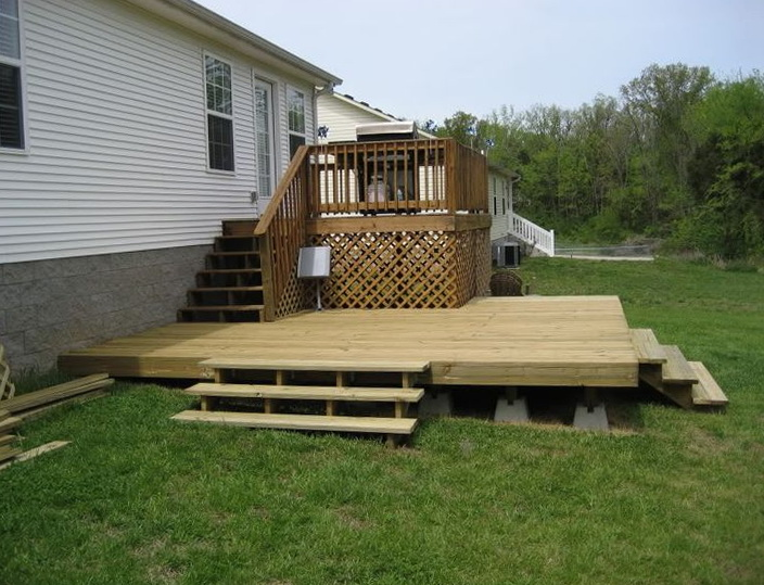 Do It Yourself Home Design: Building A Floating Deck Do It Yourself
