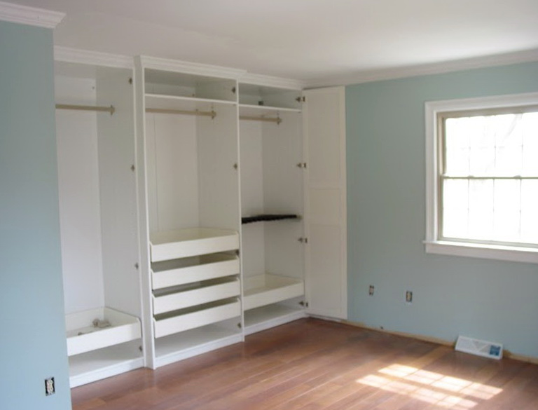 built in closets ikea