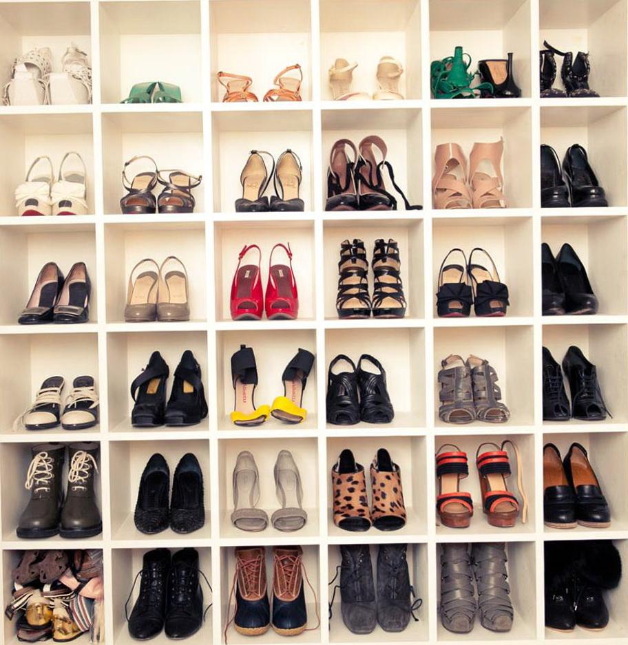 Closet Organizers Shoe Shelf