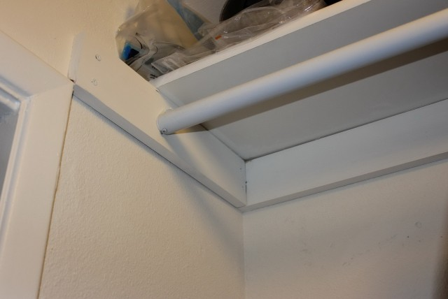 Closet Rod Support Home Depot