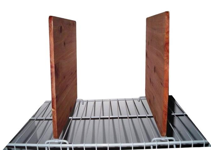 Closet Shelf Dividers For Wire Shelves