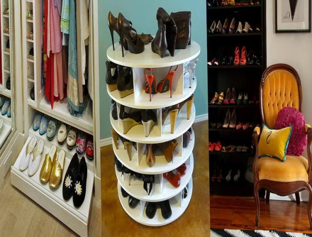 Closet Shoe Storage Solutions