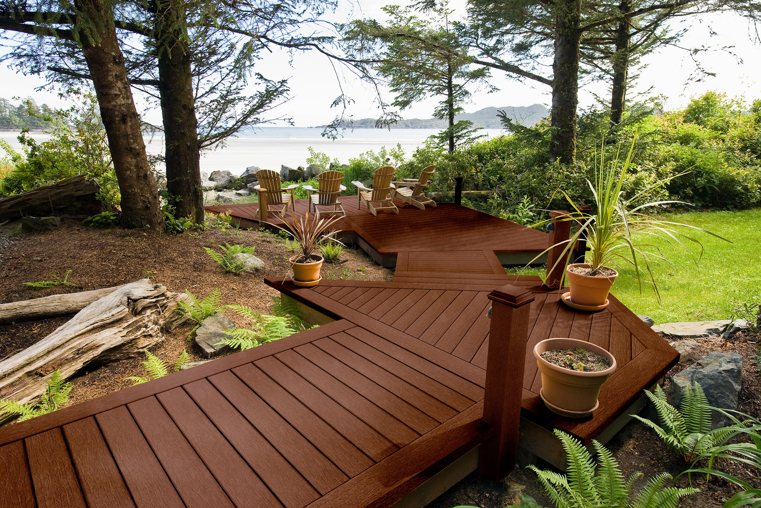 Composite Decking Vs Wood Price Home Design Ideas