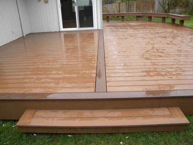 Composite decking vs wood uk home design ideas for Evergrain decking vs trex