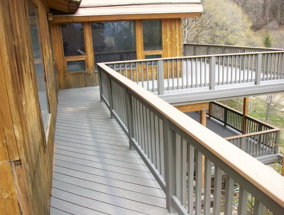 Composite Decking Vs Wood Weight